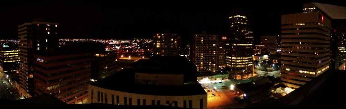 Another panoramic shot of Calgary, this time from my buddy Joey's balcony