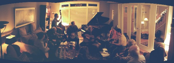 A pic from last week's jam session -- a great time was had by all